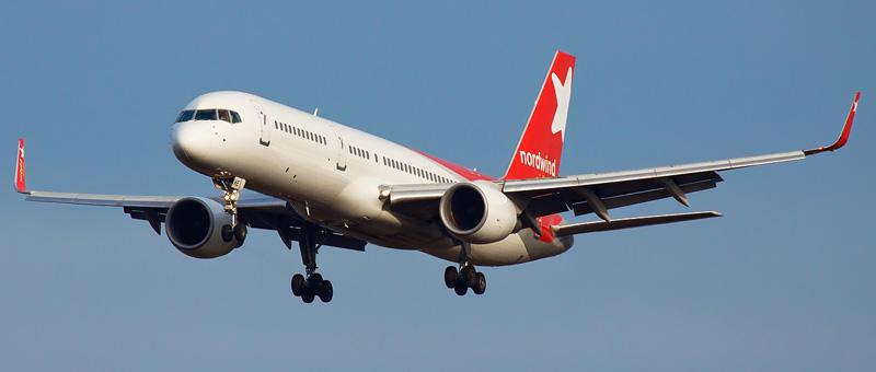 Схема салона Boeing 757-200 - Nordwind Airlines. Лучшие места в ...