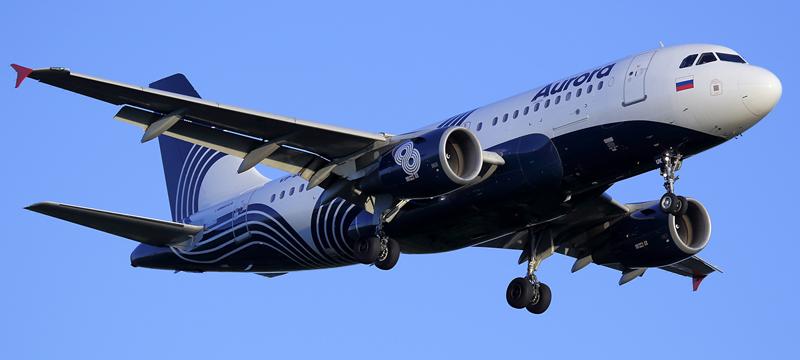 A319-112 Aurora Airlines
