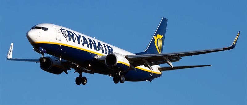Схема салона Boeing 737-800 Ryanair