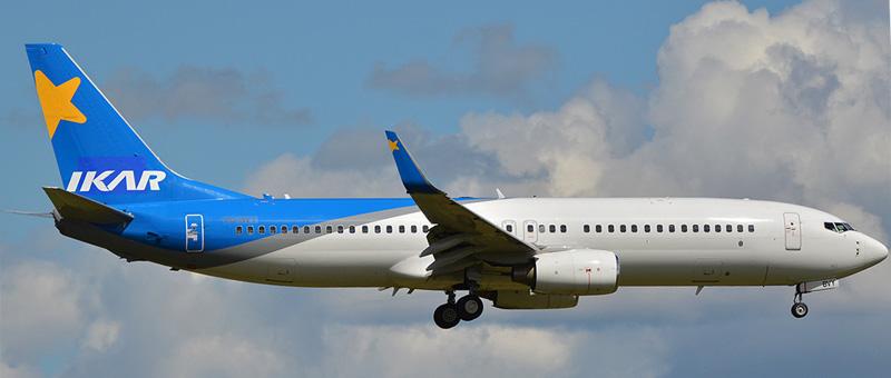 Boeing-737-800 VQ-BVY Ikar