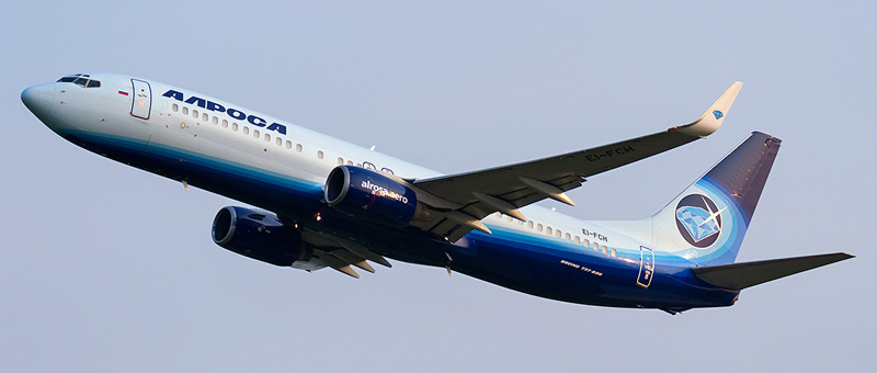 Boeing 737-83N Alrosa