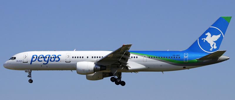 Boeing-757-200 (VQ-BBT) Ikar