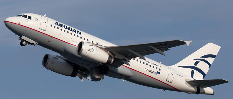 Airbus A319-100 (SX-DGF ) Aegean Airlines