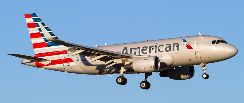 Airbus A319-100 American airlines