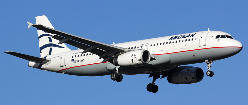 Airbus A320-232 Aegean Airlines