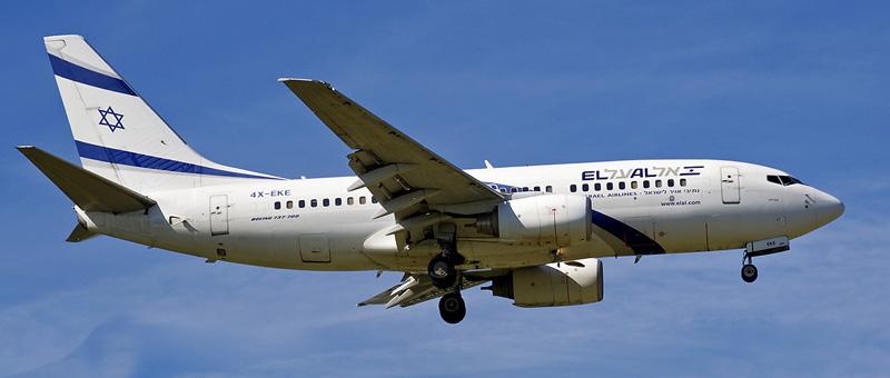 Boeing 737-700 El-Al
