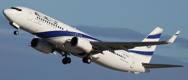 Boeing 737-800 El-Al