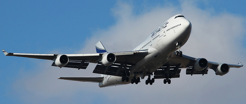 Boeing 747-400 El-Al