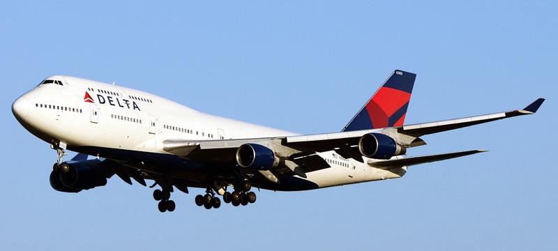 Boeing 747-400 Delta Air Lines
