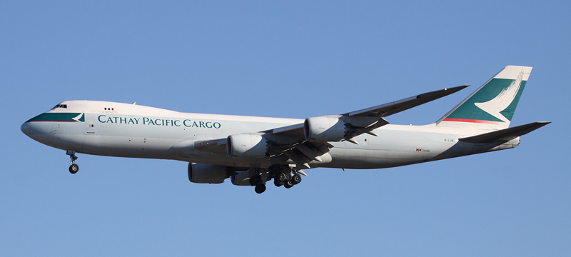 Boeing 747-800 Cathay Pacific