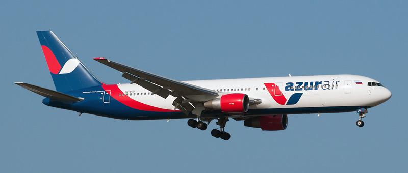 boeing 767-33 vq-buo