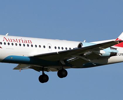 Схема салона Fokker 70 — Austrian Airlines