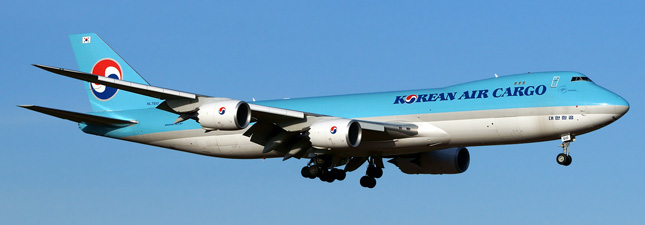Boeing 747-8 Korean Air Lines HL7610