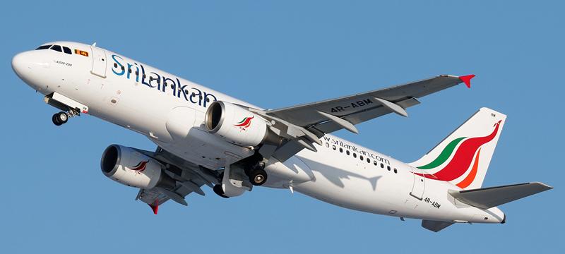Airbus A320-200 SriLankan