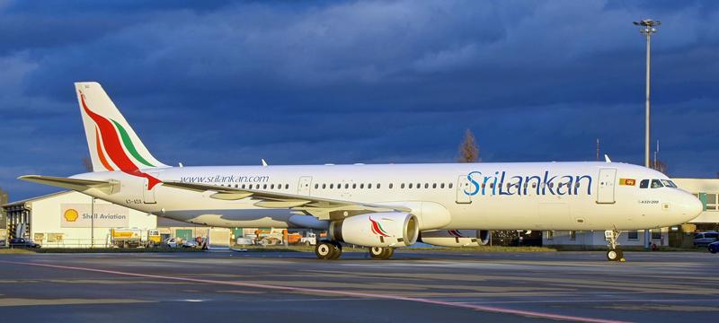 Airbus A321-200 SriLankan-A7-ADX
