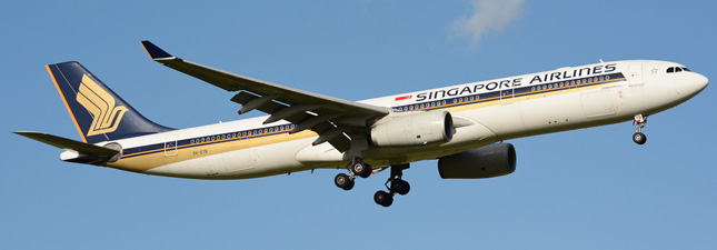 Airbus A330-300 Singapore Airlines (9V-STB)