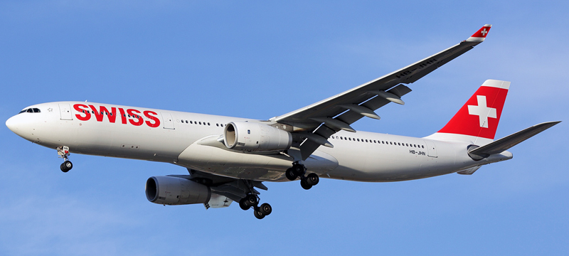 Airbus A330-343 swiss airlines
