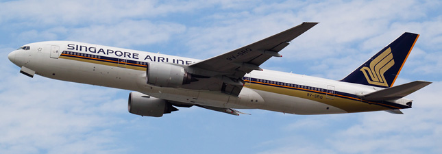 Boeing 777-200 Singapore Airlines (9V-SRQ)
