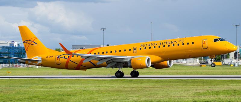 Embraer ERJ-195 VQ-BRX Saratov Air