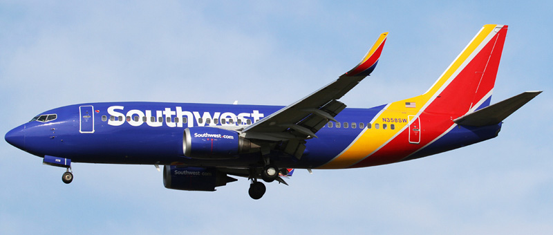 Boeing 737-3H4 southwest airlines