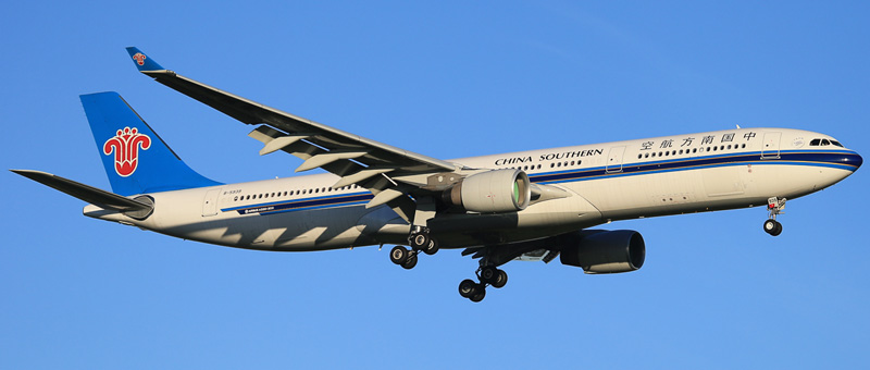 airbus a330-323 china southern airlines
