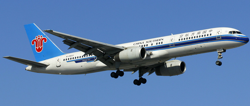 boeing 757-21b china southern airlines