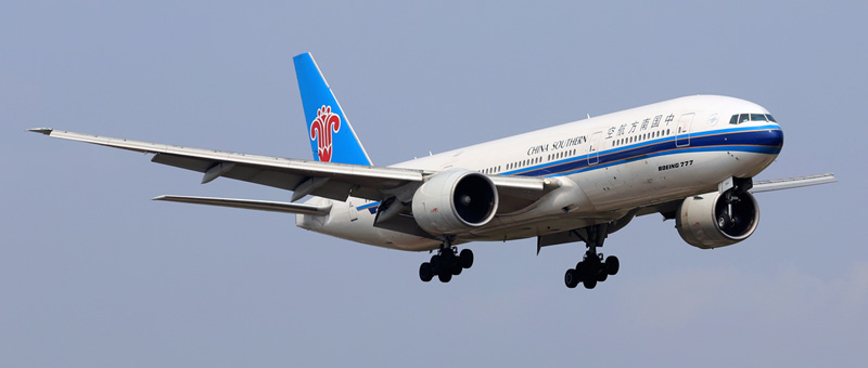 boeing 777-21b china southern airlines