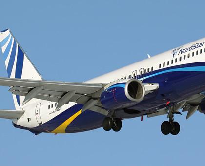 Схема салона Boeing 737-800 — Nordstar Airlines