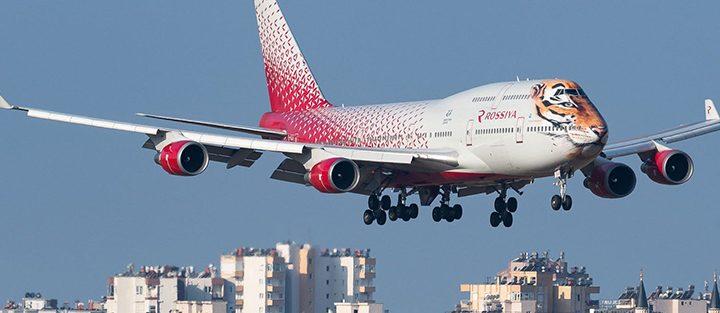Лучшие места в самолете Boeing 747-400 Россия.