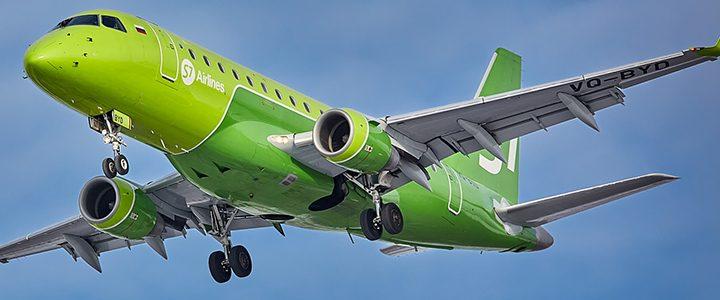 Схема салона Embraer ERJ-170 - S7 Airlines. Лучшие места