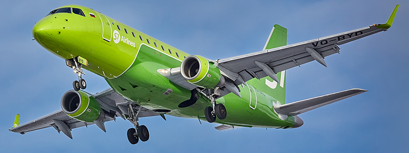 Схема салона Embraer ERJ-170 — S7 Airlines. Лучшие места