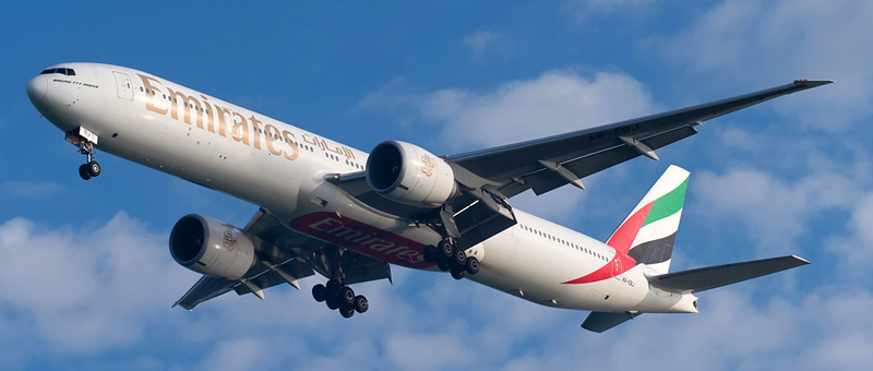 Схема салона Boeing 777-300ER — Emirates