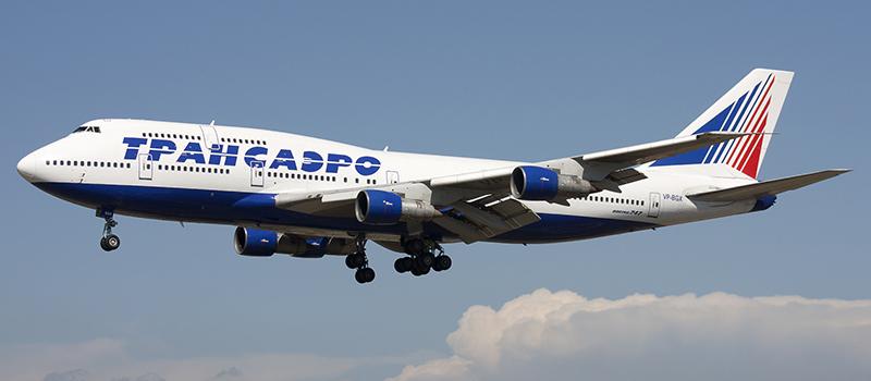 Схема салона Boeing 747-300 Трансаэро. Лучшие места в самолете