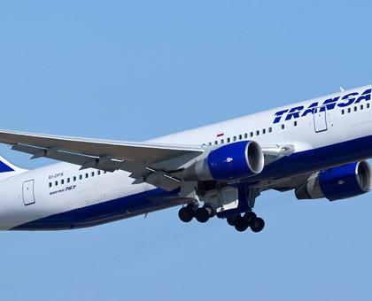 Схема салона Boeing 767-300ER — Трансаэро