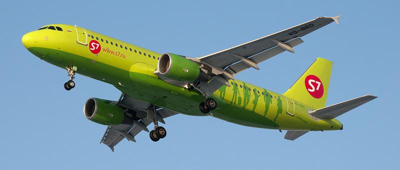 Схема салона Airbus A320 — S7 Airlines. Лучшие места в самолете