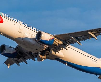 Схема салона Airbus A321 — Уральские авиалинии. Лучшие места