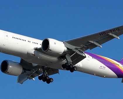 Схема салона Boeing 777-300 — Тайские авиалинии