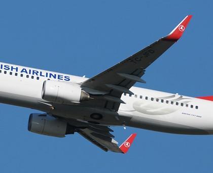 Схема салона Boeing 737-800 — Turkish Airlines