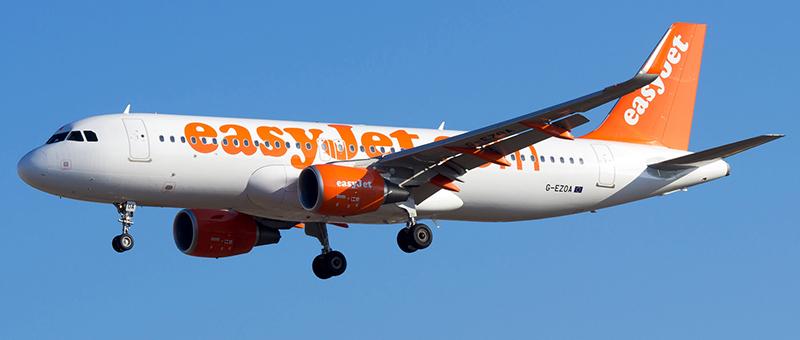 Схема салона Airbus A320 — EasyJet
