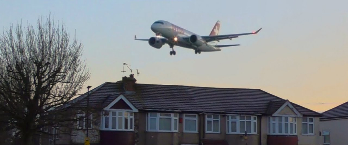 Почему вредно для здоровья жить неподалеку от аэропорта