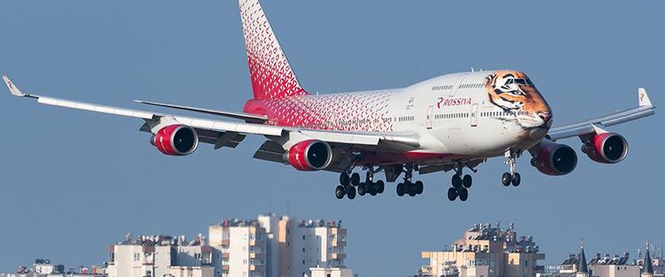 Лучшие места Boeing 747-400 Россия. Схема салона самолета